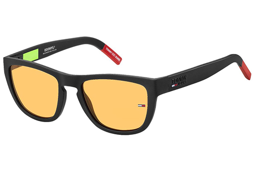 Tommy Hilfiger Tj 0002/s 003/W7 MATT BLACK 54 Unisex Sunglasses