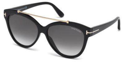 Tom Ford FT0518 01B 58 Sunglasses