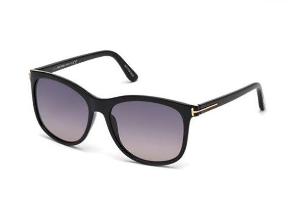 Tom Ford FT0567 01B 56 Sunglasses