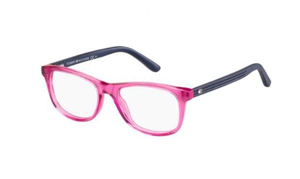 Tommy Hilfiger Th 1338 H8B/16 TRNPINK BLUE 46 Kids Eyeglasses