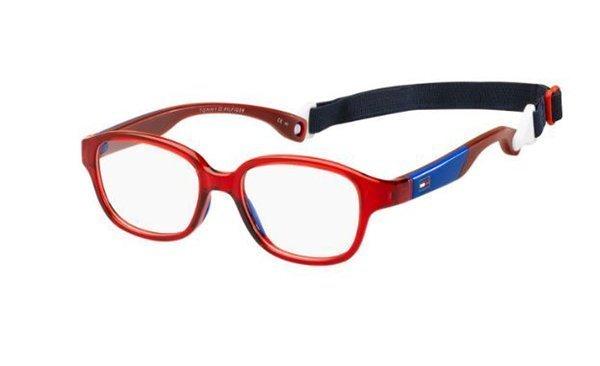 Tommy Hilfiger Th 1500 C9A/15 RED 43 Kids Eyeglasses
