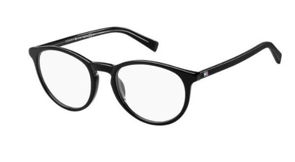 Tommy Hilfiger Th 1451 A5X/20 BLACK GREY 50 Unisex Eyeglasses