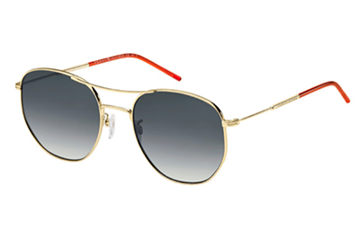 Tommy Hilfiger Th 1619/g/s J5G/9O GOLD 57 Unisex Sunglasses