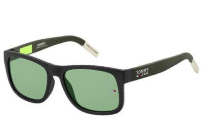 Tommy Hilfiger Tj 0001/s 3OL/QT MATTE BLACK 56 Unisex Sunglasses