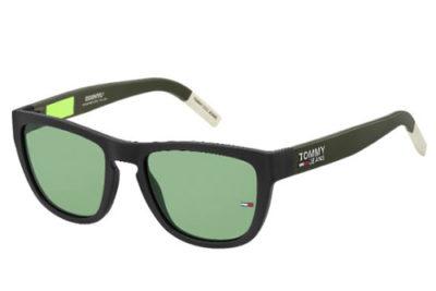 Tommy Hilfiger Tj 0002/s 3OL/QT MATTE BLACK 54 Unisex Sunglasses