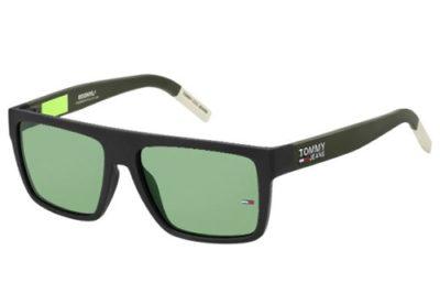Tommy Hilfiger Tj 0004/s 3OL/QT MATTE BLACK 56 Unisex Sunglasses
