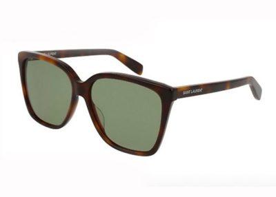 Yves Saint Laurent SL 175 avana 56 Women's Sunglasses