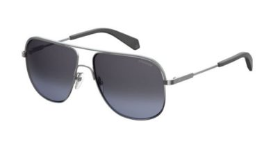 Polaroid Pld 2055/s 6LB/1A RUTHENIUM 59 Men's Sunglasses