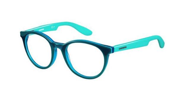 Carrera Carrerino 55 KOB/18 TEAL TURQUOI 45 Kids Eyeglasses