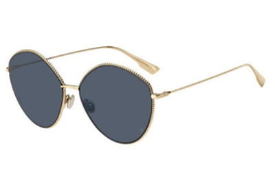 Christian Dior Diorsociety4 J5G/KU GOLD 61 Women's Sunglasses