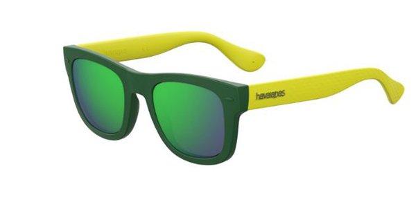 Havaianas Paraty/m QPN/Z9 GREEN YELLOW 50 Unisex Sunglasses