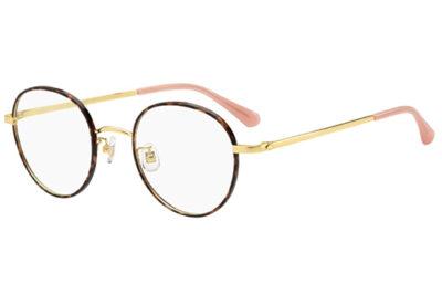 Kate Spade Helka/f OO4/22 HAVANREDCORA 49 Women's Eyeglasses