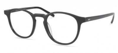 Modo 6609 matt black 47 Unisex Eyeglasses