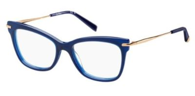 Max Mara Mm 1309 PJP/17 BLUE 51 Women's Eyeglasses
