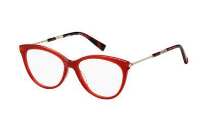 Max Mara Mm 1332 C9A/16 RED 53 Women's Eyeglasses