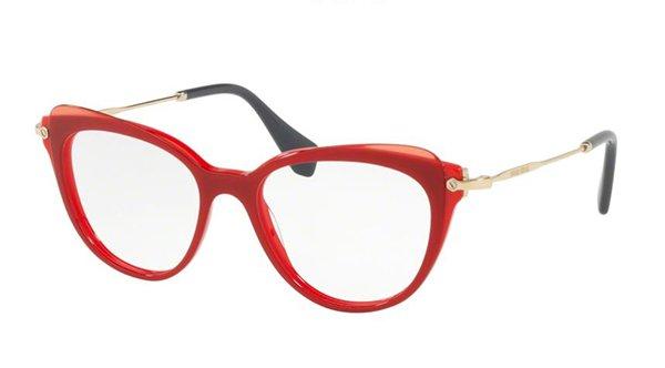 Miu Miu 01QV VX91O1 50 Women's Eyeglasses