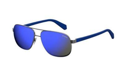 Polaroid Pld 2059/s KJ1/5X DK RUTHENIUM 60 Men's Sunglasses