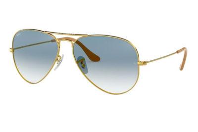 Ray-Ban 3025 Sunglasses 001/3F 55 Men's