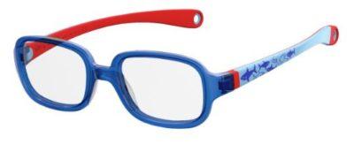 Safilo Sa 0003/n X2D/16 BLUE REDWOOD 43 Kids Eyeglasses