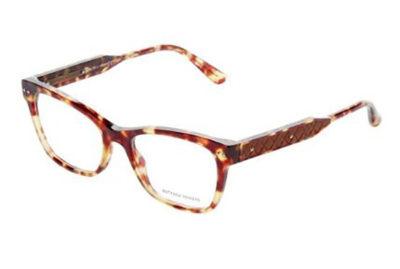 Bottega Veneta BV0016O avana 53 Women's Eyeglasses
