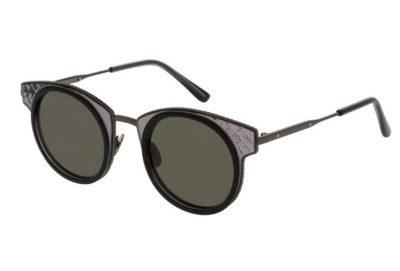 Bottega Veneta BV0063S black 46 Unisex Sunglasses