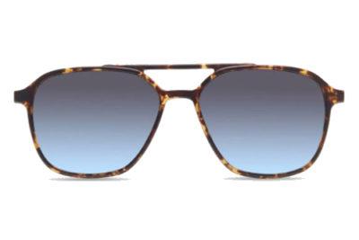 MODO AYON clip on brown tort 53 Men's Sunglasses