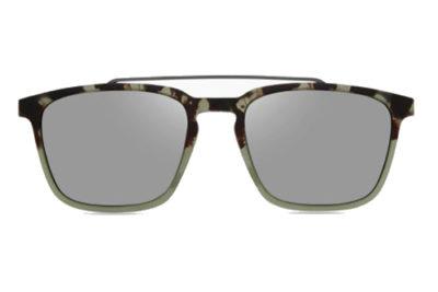 MODO CLARK clip on green tort gradient 53 Men's Eyeglasses