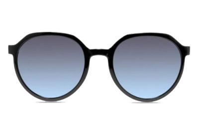MODO CLOVER clip on black   gold 52 Unisex Sunglasses