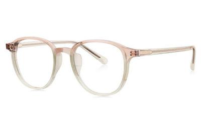 Bolon BJ3087 transparent pink transp 49 Unisex eyeglasses