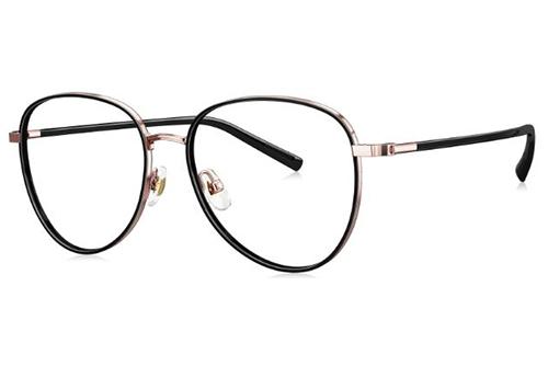 Bolon BJ7085 rose gold black 54 Women's Eyeglasses
