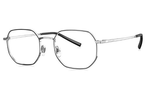 Bolon BJ7107 silver black 51 Unisex eyeglasses