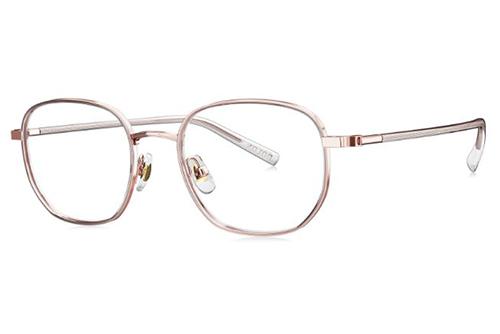 Bolon BJ7153 rose gold transparent 50 Women's Eyeglasses