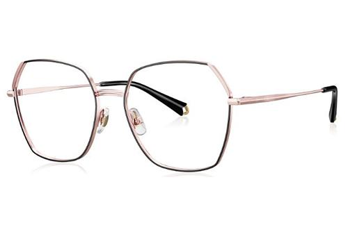 Bolon BJ7159 B13 black rose gold 54 Women's Eyeglasses