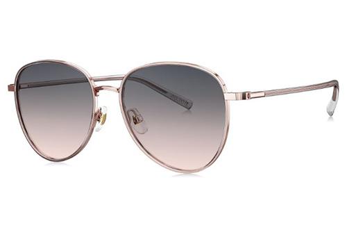 Bolon BL7111 light gold transparent 54 Women's Sunglasses