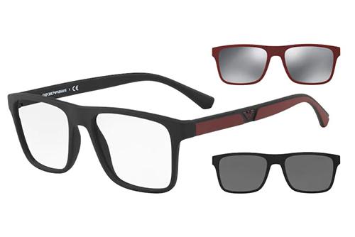 Emporio Armani 4115  50421W 52 Men's Sunglasses