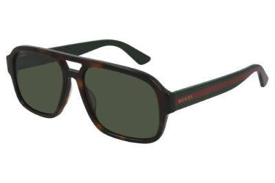 Gucci GG0925S 002 havana green green 58 Men's Sunglasses