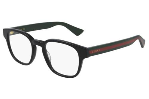 Gucci GG0927O 001 black green transpare 49 Men's Eyeglasses