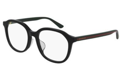Gucci GG0932OA 001 black green transpare 53 Men's Eyeglasses