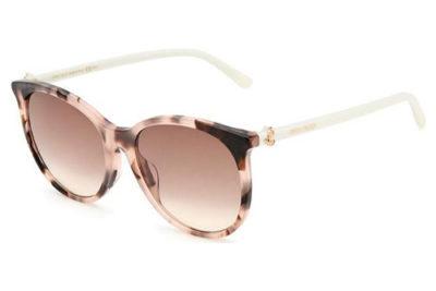 Jimmy Choo Ilana/f/sk 086/HA HAVANA 57 Women's Sunglasses