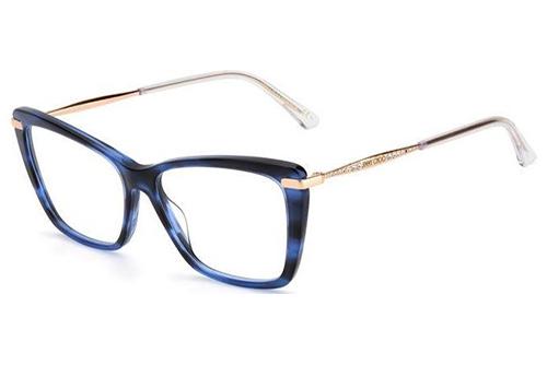 Jimmy Choo Jc297 JBW/15 BLUE HAVANA 54 Women's Eyeglasses