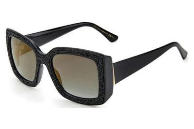 Jimmy Choo Viv/s 807/FQ BLACK 55 Women's Sunglasses