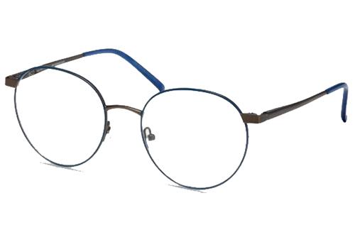 MODO CLOVER blue / gun 52 Unisex eyeglasses