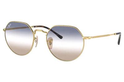 Ray-Ban 3565  001/GD 53 Unisex Sunglasses