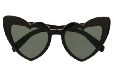 Saint Laurent SL 181 LOULOU 001 black black grey 54 Women's sunglasses