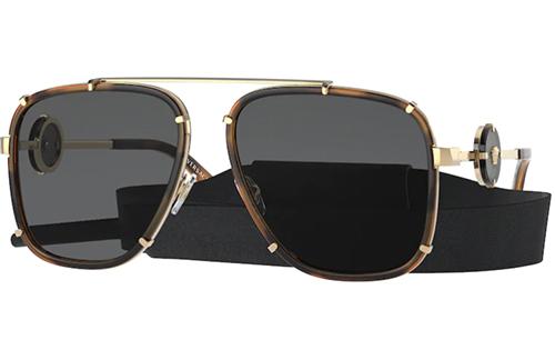 Versace 2233  147087 60 Men's Sunglasses