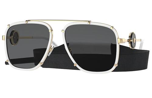 Versace 2233  147187 60 Men's Sunglasses