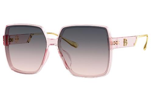 Bolon BL5058A33 transparent pink 60 Sunglasses
