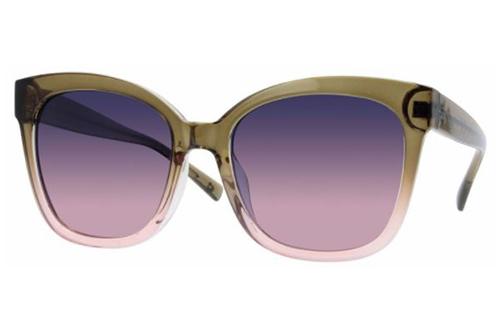 CentroStyle S010956188029 GRE.TEA-PUR/AST Women's Sunglasses