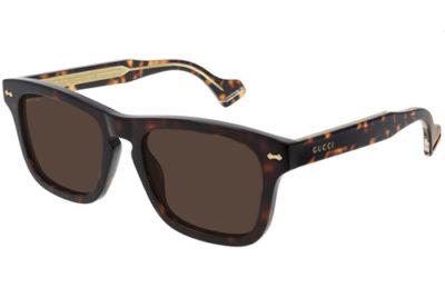 Gucci GG0735S 003 havana havana brown 53 Men's Sunglasses