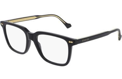 Gucci GG0737O 005 black black transpare 53 Men's Eyeglasses